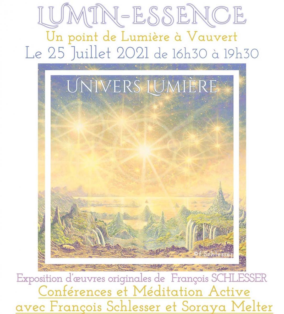 Affiche Lumin'Essence - Vauvert