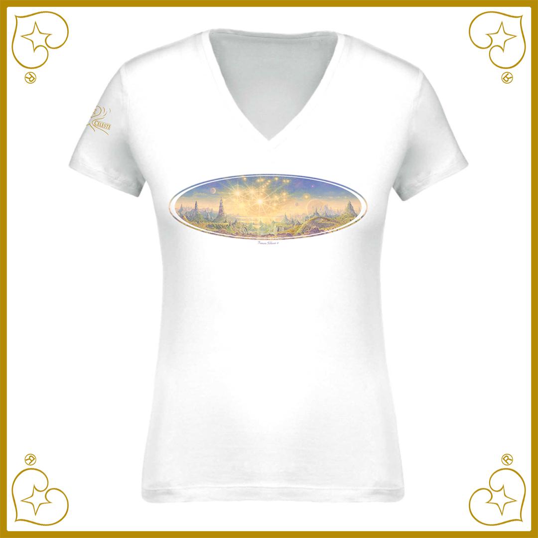 """T-Shirt """"Alcyone éternelle"""" Nature Céleste"""