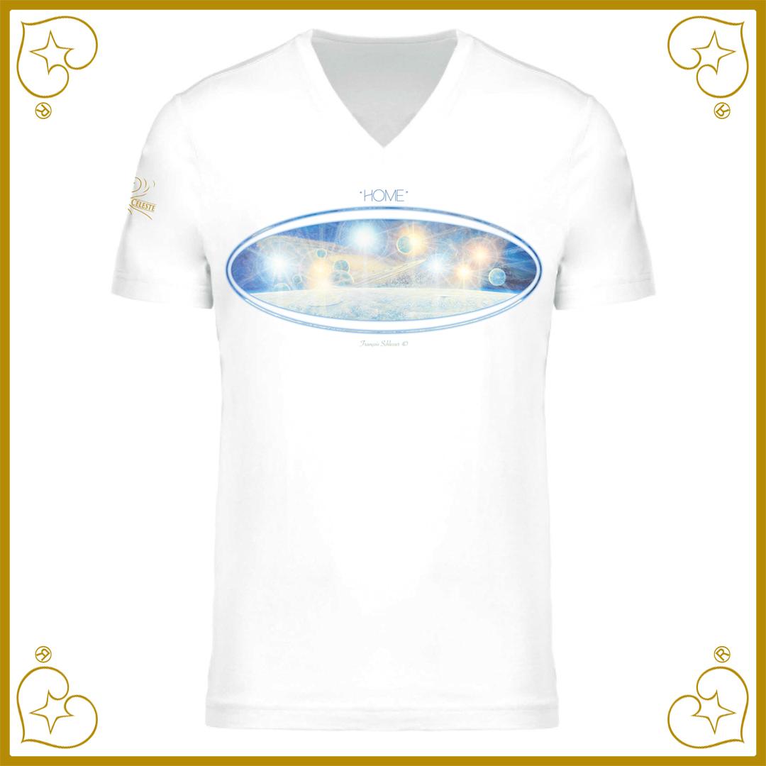 """T-Shirt """"Home"""" Nature Céleste"""
